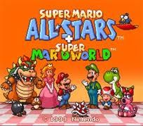 Super Mario All-Stars + Super Mario World -SNESfun.com play old super nintendo games online <3