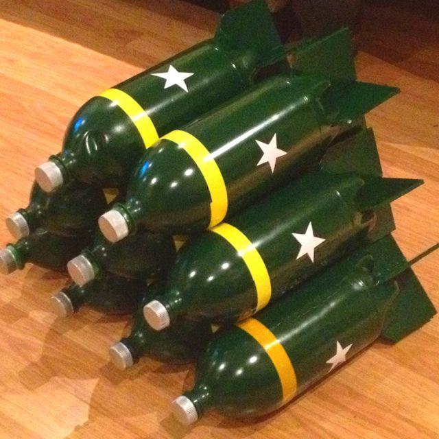 Resultado de imagen para army party ideas | Piñatas
