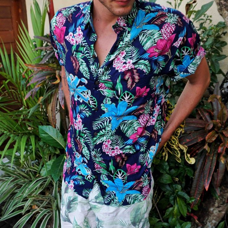 The Flower Hour mens shirt by Kenny Flowers www.kennyflowers.co