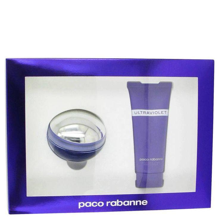 Ultraviolet Perfume by Paco Rabanne 2.7 oz Eau De Parfum Spray and 3.4 oz Body Lotion