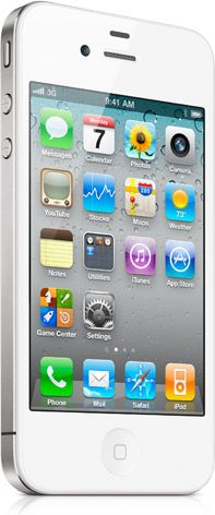 White iPhone 4