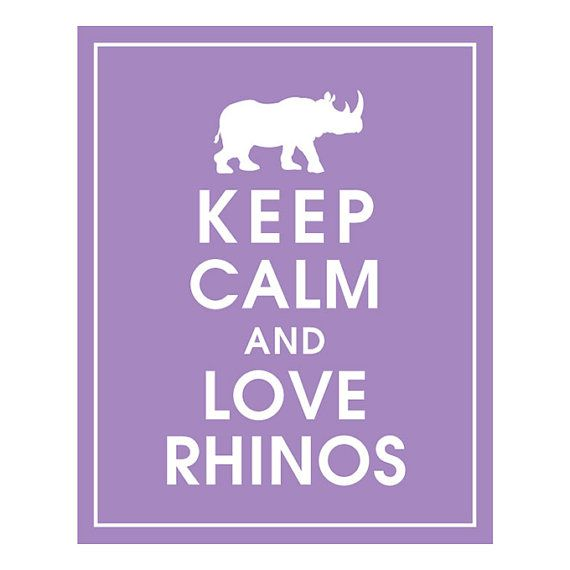Really? I guess I didn't realize that the rhino-loving population was so great...