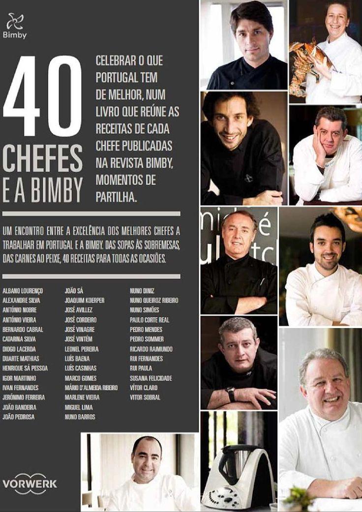 Bimby 40 Chefes E A Bimby