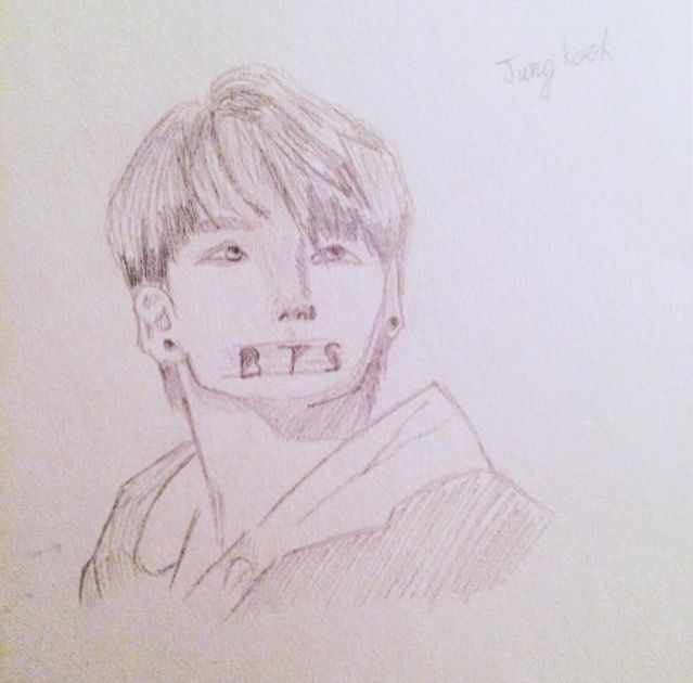 i drew this for a friend kpop