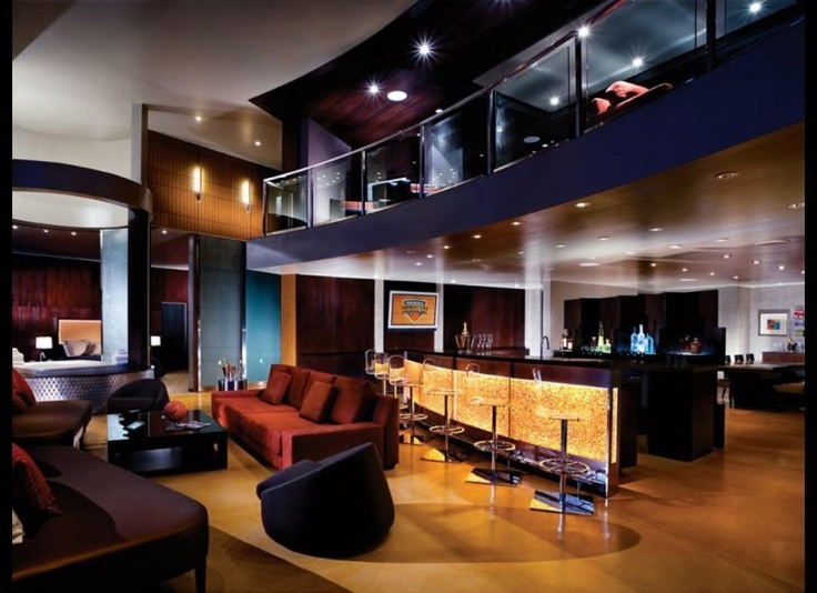 The Palms, Las Vegas...the Hardwood Suite with a basketball half court!