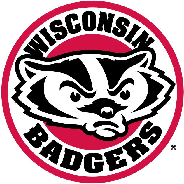 Wisconsin Badgers Alternate Logo (2002) - Badger head in a circle