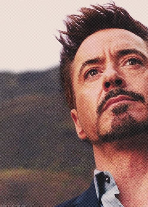 """And now I'm a changed man.  (""""Iron Man 3"""")"""