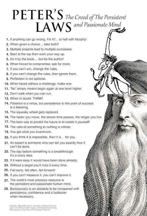 28 Laws's to Live by