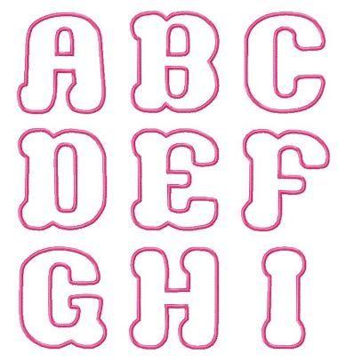 Cute Bubble Letters for I   Cute Bubble Letter Fonts
