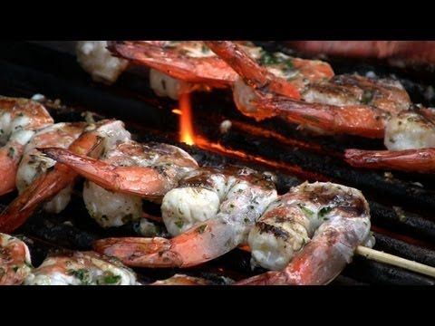 Marinated Grilled Shrimp | Grill it up! | Pinterest