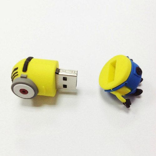 Free shipping Cute minion model USB 2.0 Enough by handmadelove2013, $18.99
