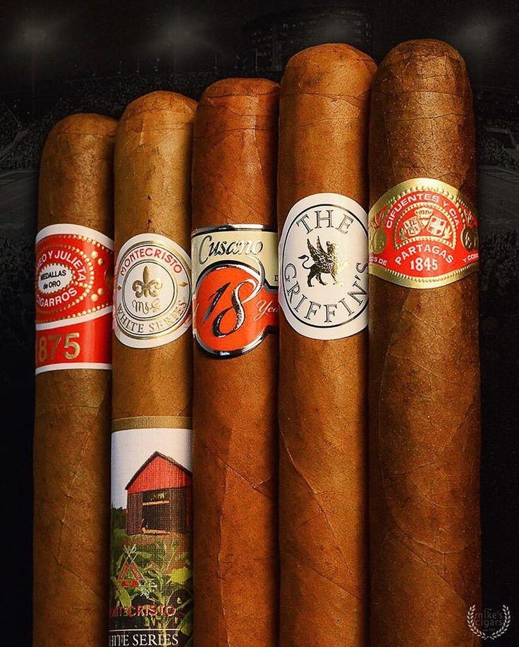 Thursday Night Lights Cigar Sampler  #Partagas #TheGriffins #Cusano18 #Montecristo #RomeoYJulieta #CigarSampler