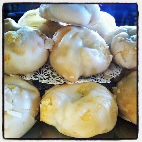 Taralli al Limone di Sicilia.  Sicilian Lemon Drop Cookies