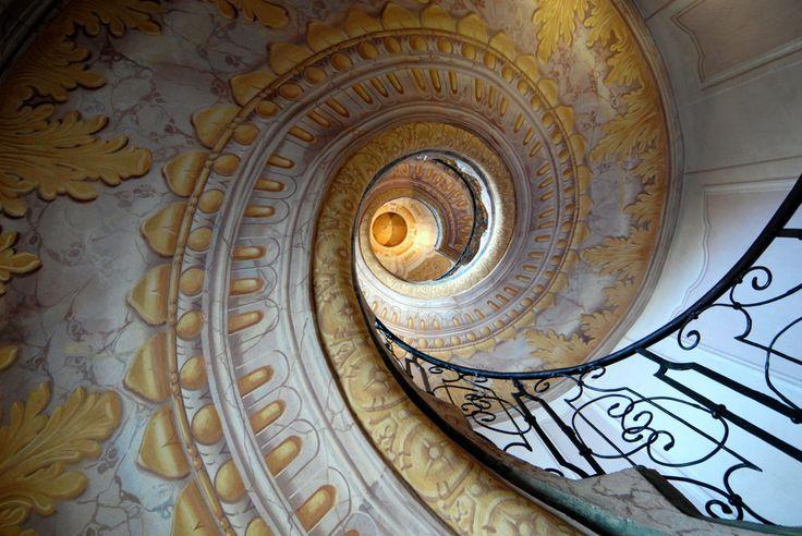 メルク修道院の螺旋階段