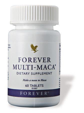 Forever Multi-Maca:- * Known as the 'sex herb of the Incas' * May promote libido, stamina & energy