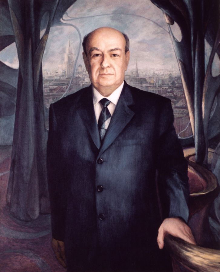 Vladimir Iosifovich Resin. Portrait.