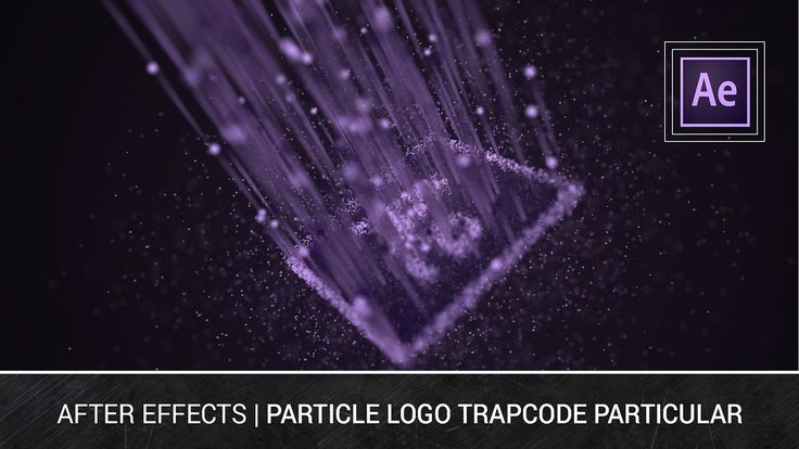 After Effects - Particle Logo Trapcode Particular Tutorial