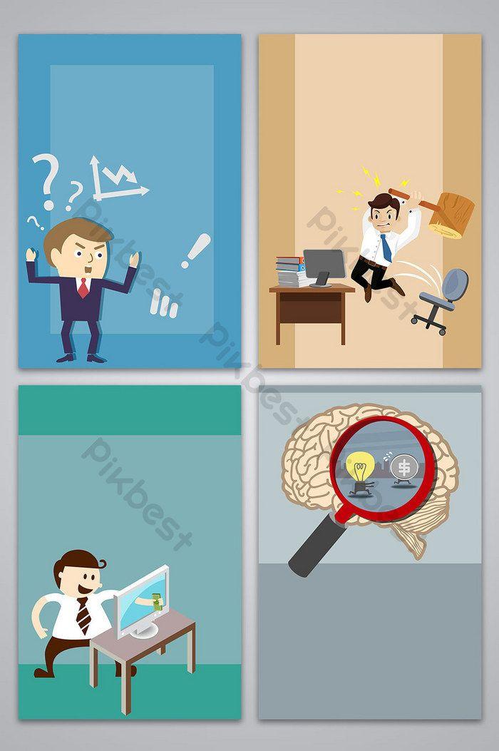 مرسومة باليد ناقلات الأعمال مكان العمل ملصق صورة الخلفية خلفيات Ai تحميل مجاني Pikbest How To Draw Hands Background Images Busy At Work