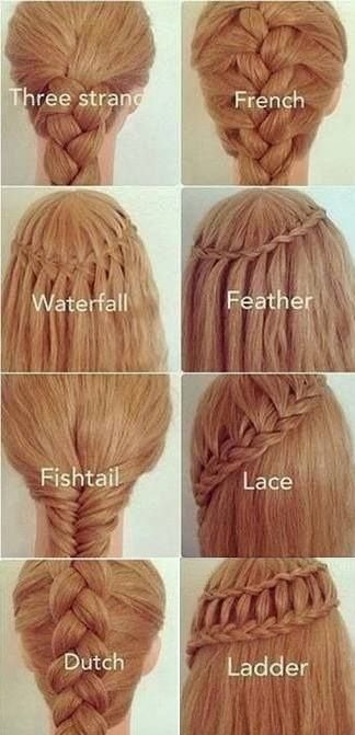 Whoa. I love these. I want to learn the lace,waterfall,French and three strand ones