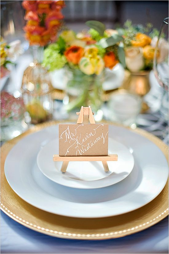 Soft And Romantic Engagement Party Ideas Easels