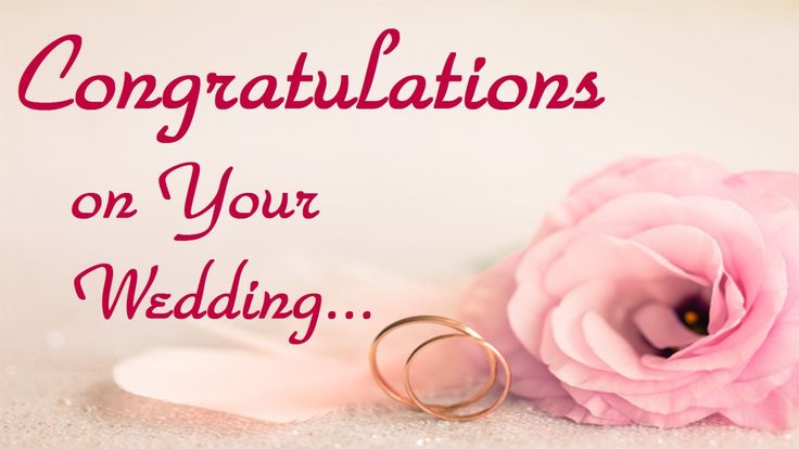 Wedding Congratulations Images & HD Pictures