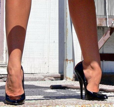 Extreme high heels #highheelsextreme
