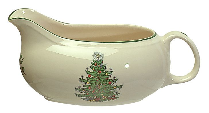 Original Christmas Tree Traditional Gravy Boat