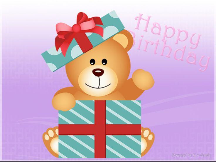 Birthday eCard – Bear In The Box