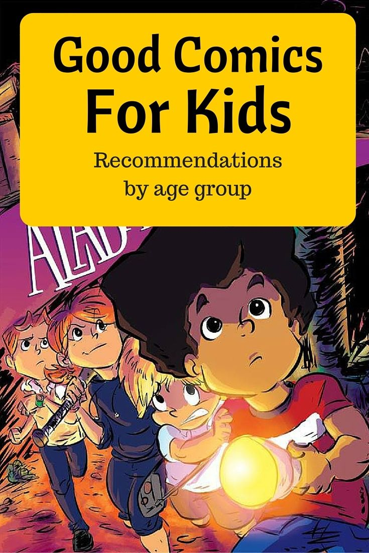 Recommended Comics For Kids, From Littles to Teens