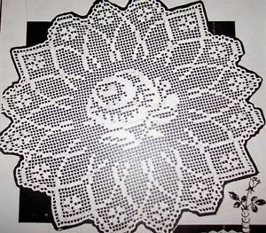 Google Crochet Pattern Central : Rose centerpieces, Filet crochet and Centerpieces on Pinterest