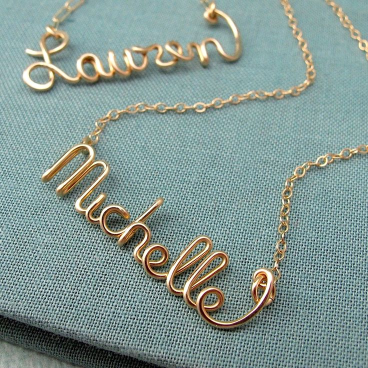 cute gift idea for the girlsGift Ideas, Names, Lodges Uganda, Bridesmaid Gifts, Jewelry, Wire Necklace, Scripts Necklaces, Design Studios, Christmas Gifts