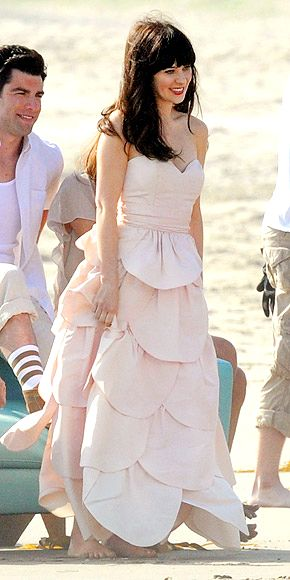 17 best images about dresses on pinterest prom dresses for Zooey deschanel wedding dress