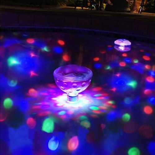 LED Floating Underwater Light Swim Toys Family Pool Toy Swimming Toys Water Toys