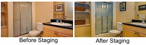 #Bathroom #StagingTips - Leovan Design  #homestaging #realestate