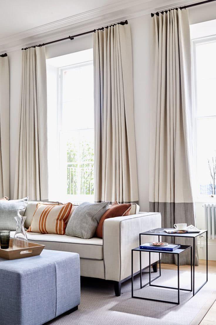Modelos de cortinas fotos e ideas – decoRevista en 20  Cortinas