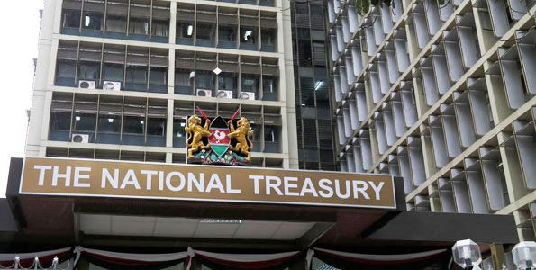 National Treasury building in Nairobi. The government earlier said external debts come with cheaper terms. PHOTO | FILE