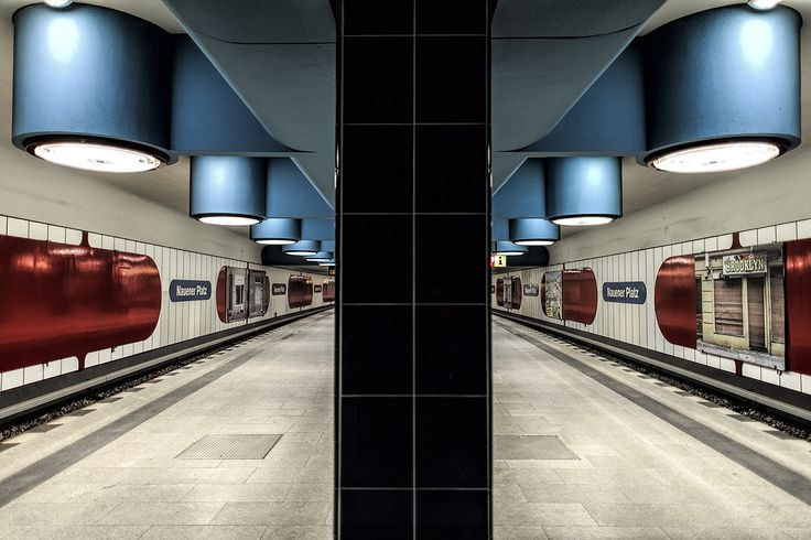 Berlin's U9 line in photos, all stations