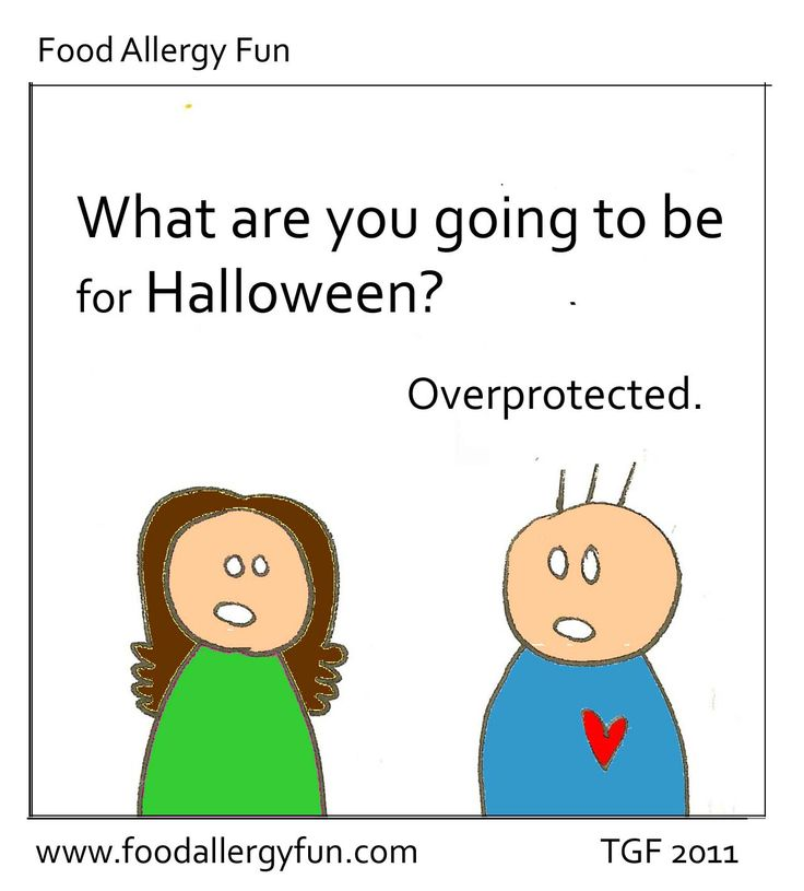 Comic Relief for food allergy moms and kids