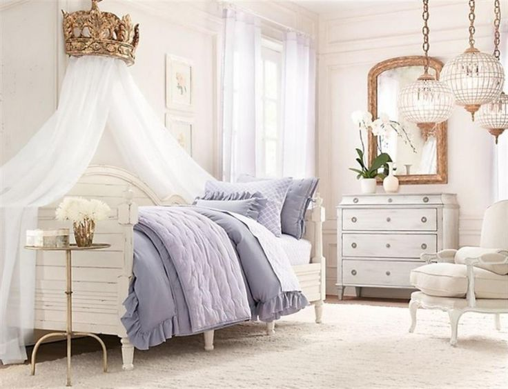 Enchanting White Canopy Bed