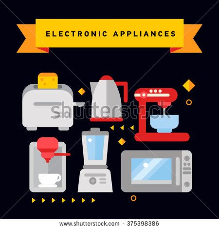 Flat Toaster Stock Vectors & Vector Clip Art   Shutterstock
