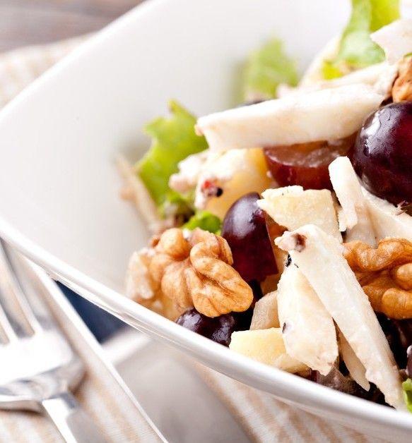 Waldorf Salad with Turkey recipe
