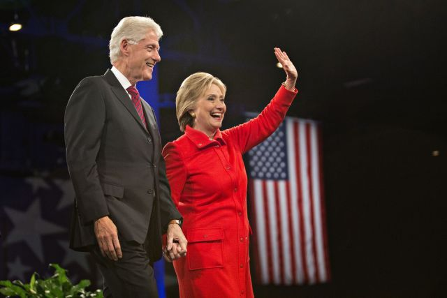 According to tax returns for 2015 released by the Clinton campaign, 96% of the candidate's charitable donations went to the Clinton Foundation. The documents show that the power couple earned $10,745,378 last year, mostly on income earned from giving public speeches. Of that, they gave just over a million to charity. But the contributions can hardly be seen as altruistic, since the money flowed back to an entity they control. #SoPhilanthropic