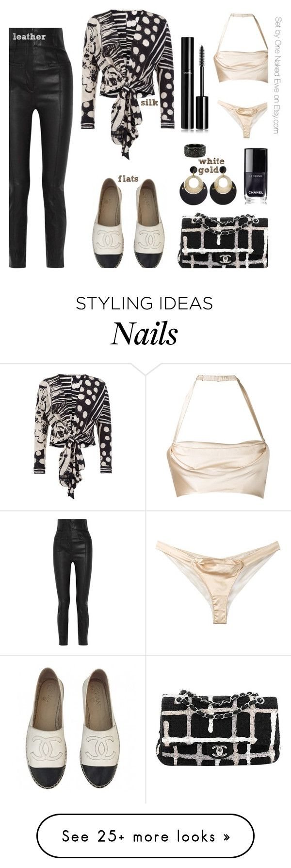 """Form, function, and fabric"" by onenakedewe on Polyvore featuring Chanel, Haider Ackermann, Bianca Elgar, Dolci Follie, Toolally, Luca Jouel and flats"