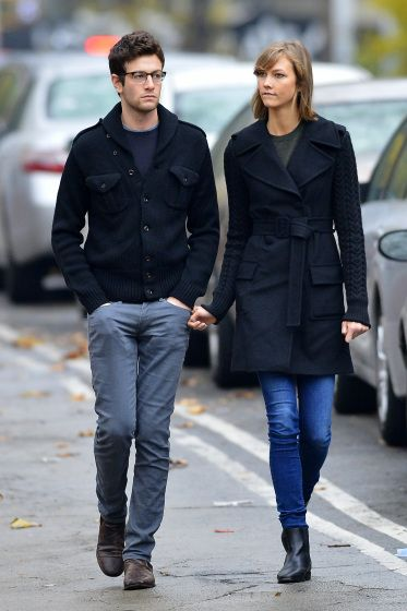 karlie kloss and joshua kushne: power couple. MODEL AND CODER AND HARVARD BOY.