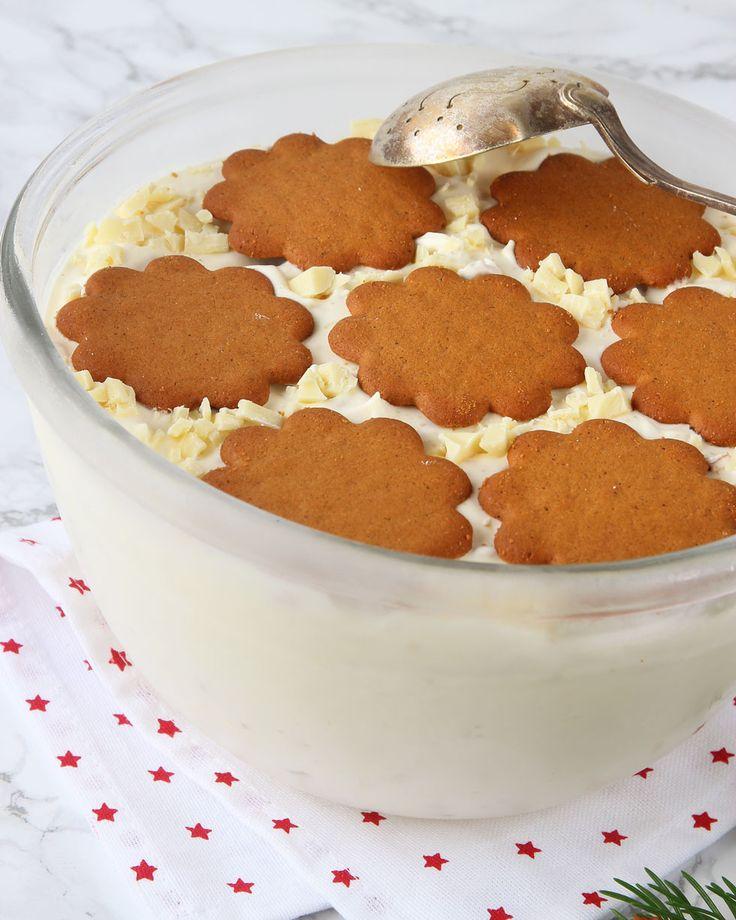 En riktigt lyxig, lättgjord dessert i juletider. Görs utan glassmaskin!