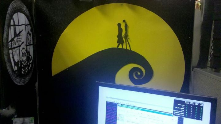 Nightmare Before Christmas Cubicle Office Decorations