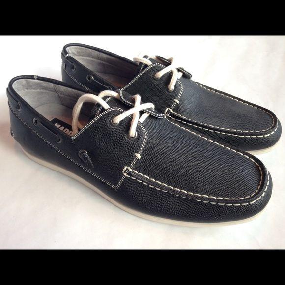 MENS Steve Madden navy blue boat shoes Never worn Steve Madden Shoes Athletic Shoes