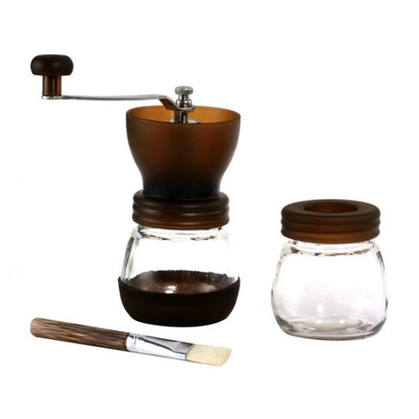 Freshly grinding your beans makes for a delicious cup of coffee. Buy this grinder for an affordable way to get freshly ground coffee at home or on the road!