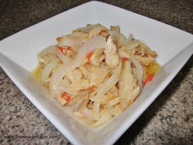 Codfish with onions/Bacalao Encebollado | Delicious Dominican Cuisine