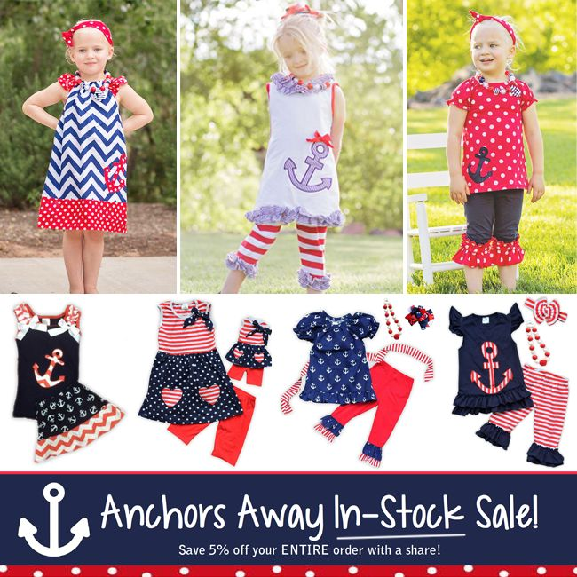 Anchor outfit in-stock sale, ships fast!